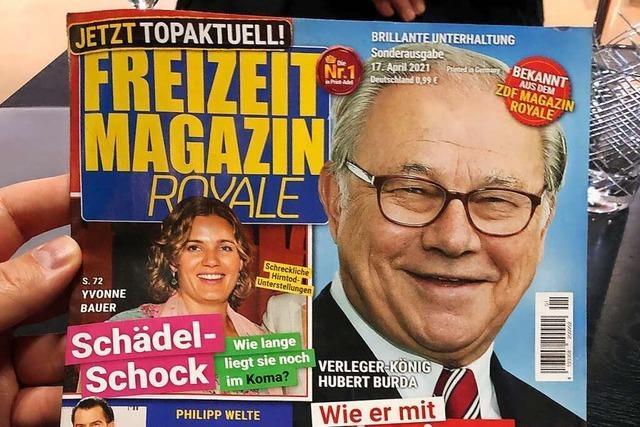 Jan Böhmermann platziert Parodie auf Unterhaltungs-Magazine am Kiosk