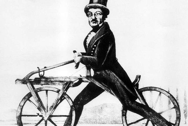 Wer hat das Fahrrad erfunden?