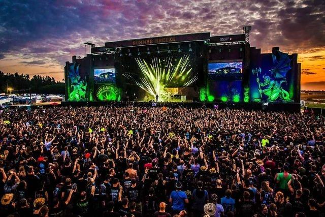 Metal-Open-Air-Festival Summer Breeze will 40 000 Besucher empfangen