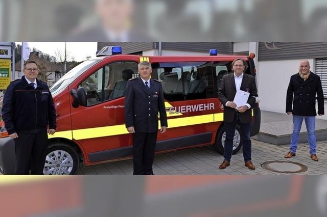 Feuerwehr-Ehrenmedaille für Carsten Gabbert