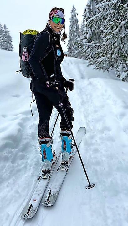 Schritt für Schritt bergauf im Frühjah...r Skihochtour im Berchtesgadener Land   | Foto: privat