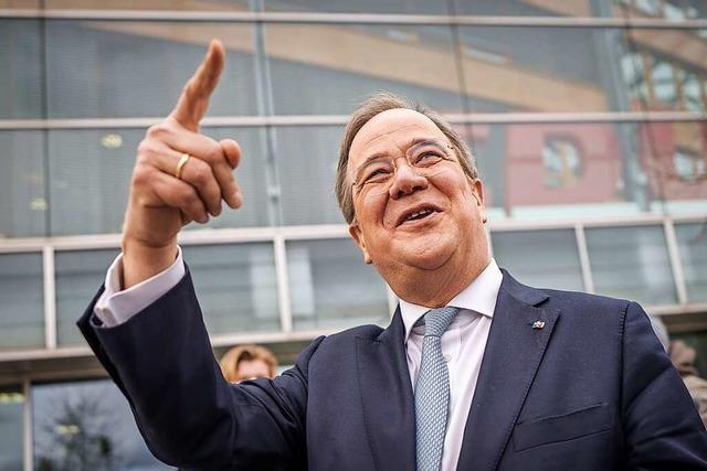 CDU-Chef Armin Laschet plant sein nächstes Comeback