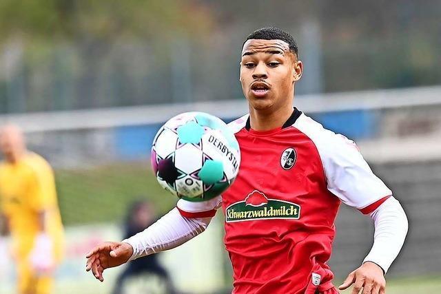Mit Mühe nimmt der SC Freiburg II die Hürde bei Bayern Alzenau