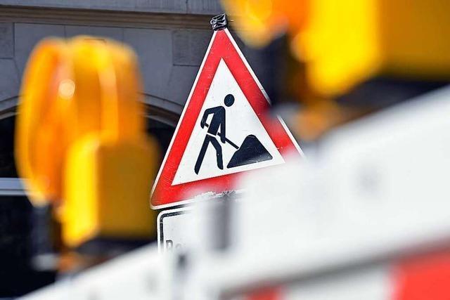 Ende Mai beginnt der Straßenbau an der B317 beim künftigen Zentralklinikum