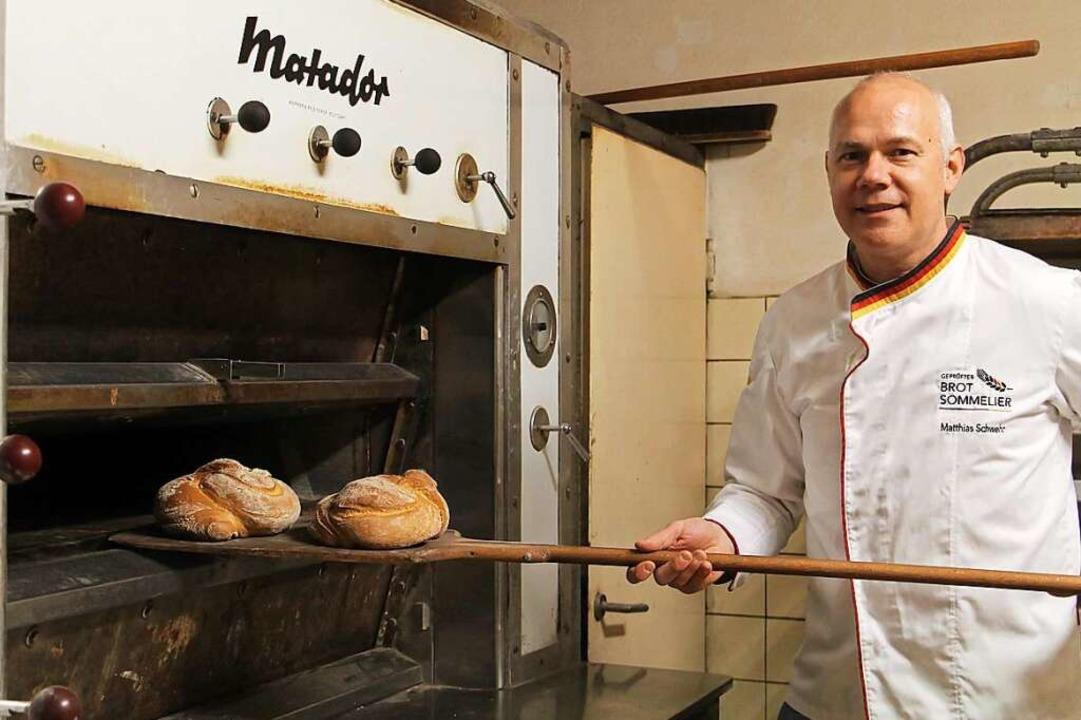 Matthias Schwehr ist Brot-Sommelier und Botschafter des Deutschen Brotes.  | Foto: Ruth Seitz