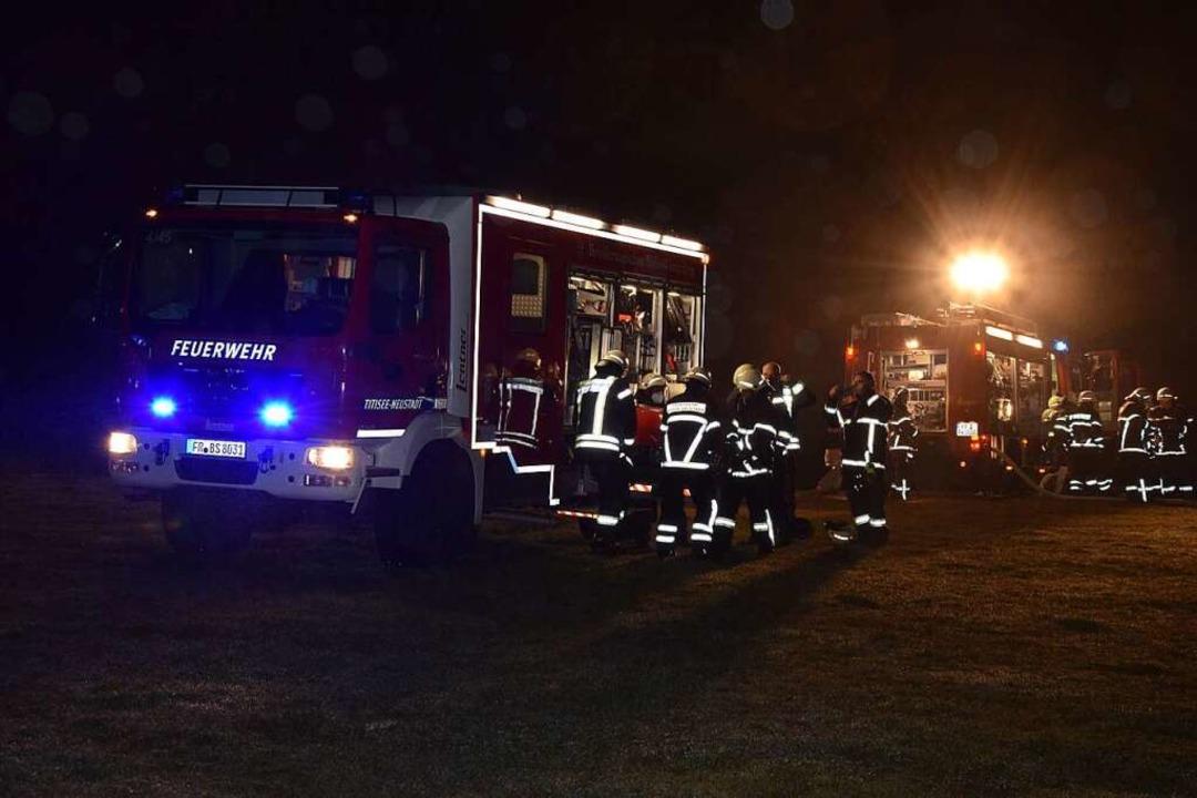 Brand auf dem Schwörerhof in Jostal    Foto: Kamera24