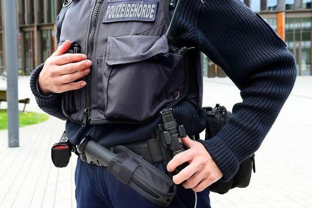 Freiburgs Vollzugsdienst hat die umstrittenen Schlagstöcke noch nie benutzt
