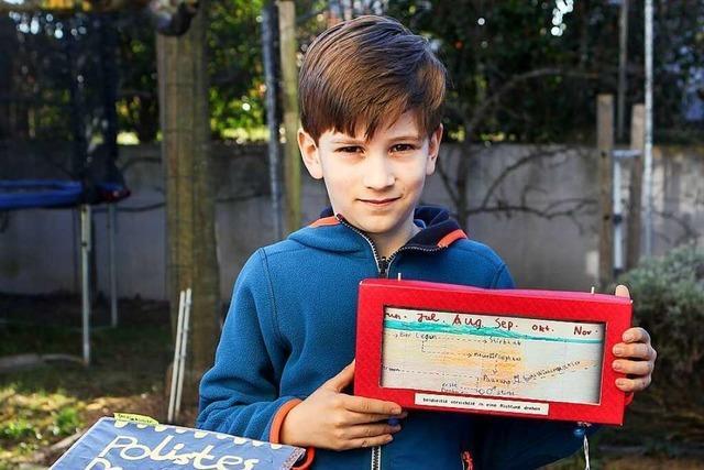 Siebenjähriger aus Gottenheim gewinnt Jung-Forscherpreis