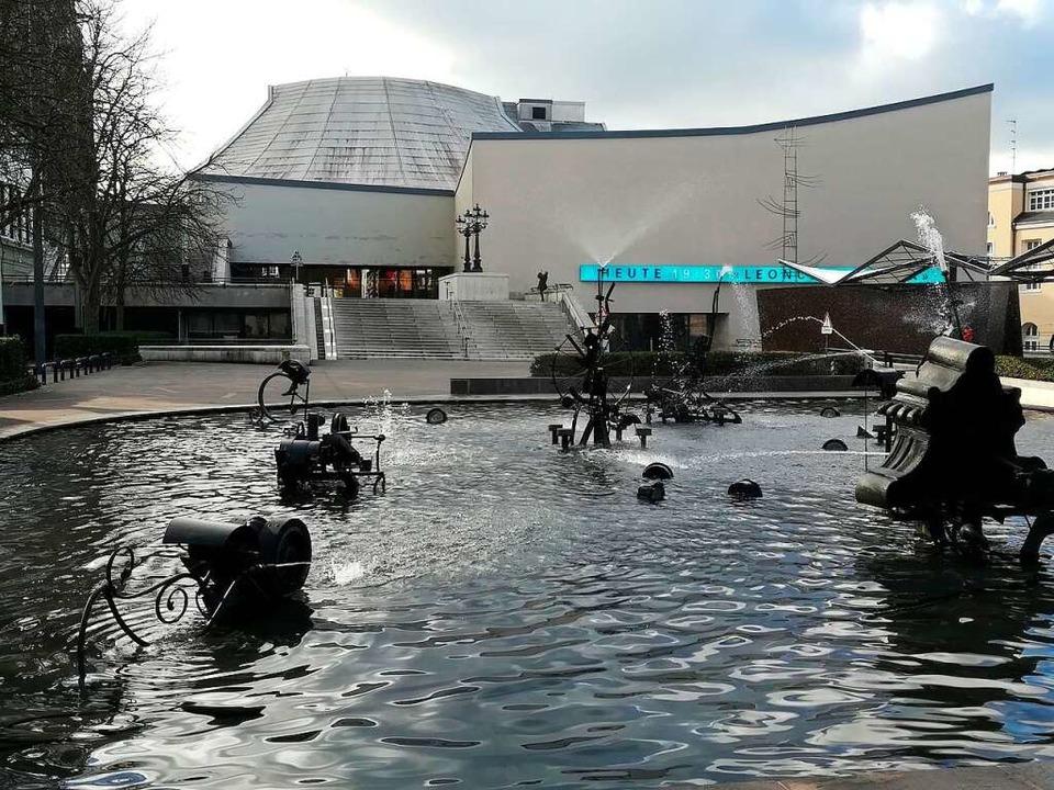 Der Tinguely-Brunnen, oder wie er rich...tsbrunnen, auf dem Basler Theaterplatz  | Foto: Daniel Gramespacher
