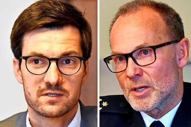 Freiburgs OB und Polizeipräsident kritisieren Sparvorschläge des Gemeinderats
