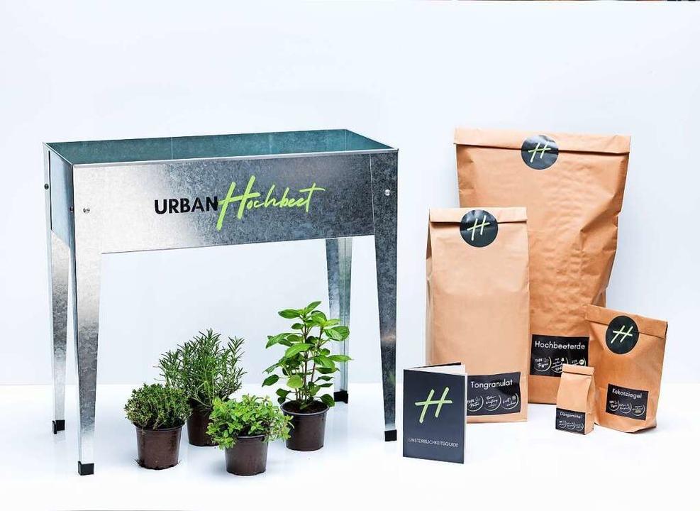 So sieht ein Paket von Urban Hochbeet aus.  | Foto: Anna Castro Kösel