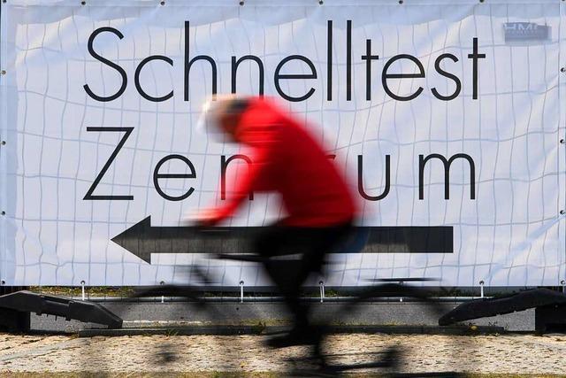 Corona-Schnelltests gibt es ab Donnerstag auf Freiburgs Ikea-Parkplatz