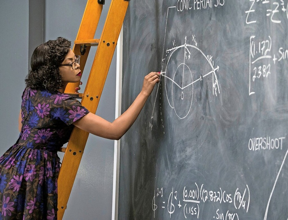 "Katherine Johnson (gespielt von Taraji...dem Film ""Hidden Figures""   