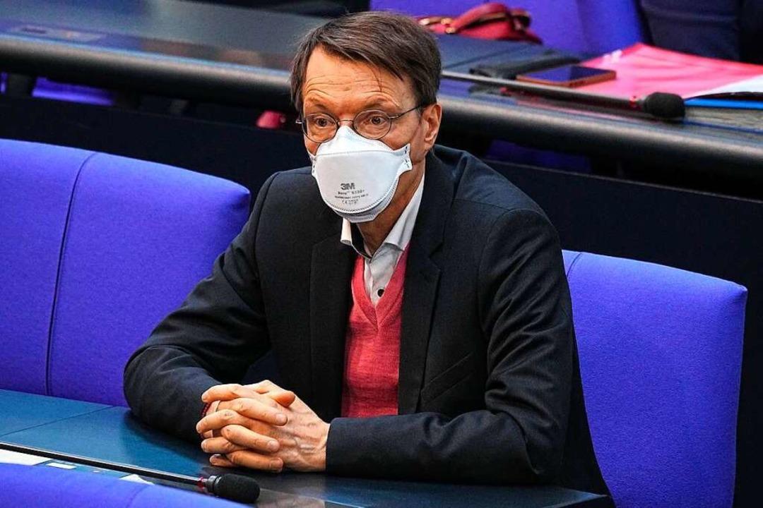 SPD-Gesundheitsexperte Karl Lauterbach  | Foto: Michael Kappeler (dpa)