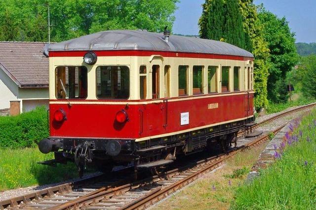 Im Kandertal kann man die Eisenbahn von gestern erleben