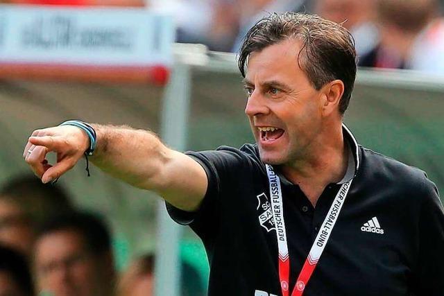 Alexander Fischinger übernimmt bei den Erstliga-Fußballerinnen des SC Sand