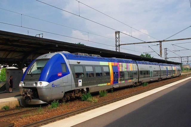 Mit der Elsässerbahn begann die Eisenbahngeschichte im Dreiländereck