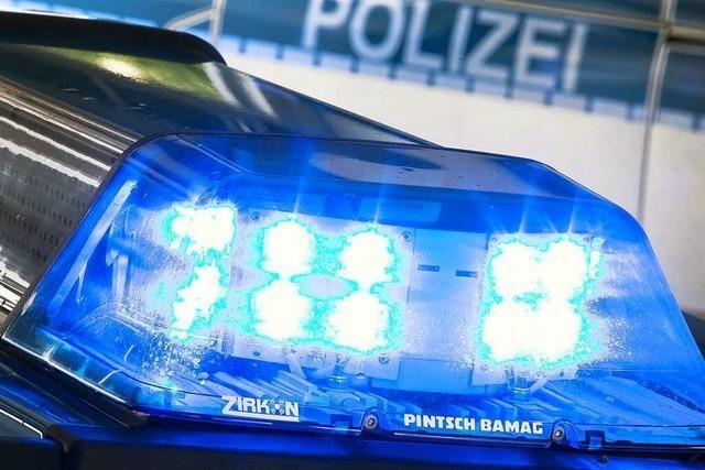 Unfall beim Abbiegen in Bad Bellingen