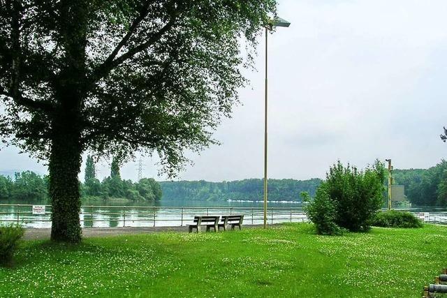 Am Rhein gibt's wunderbare Aussichten auf beiden Seiten des Flusses