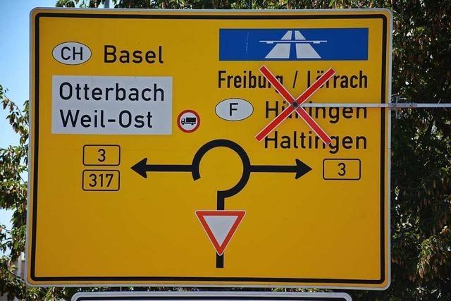 Cemagg will für Dreiländergalerie-Baustelle verlängerte B-3-Sperrung bis Ende November