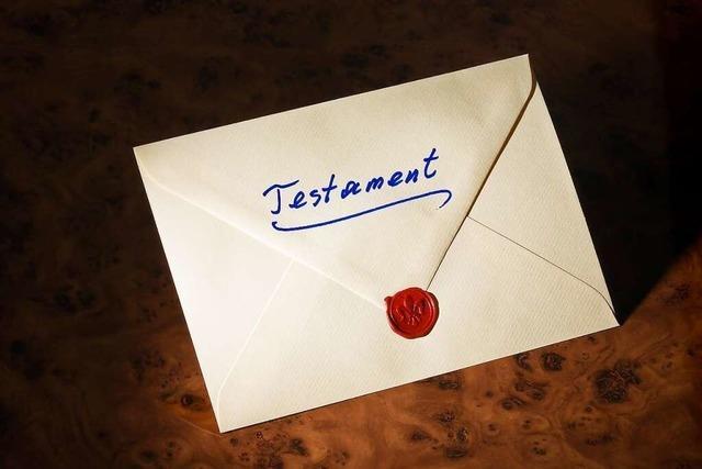 Wann sollte man ein Testament machen?