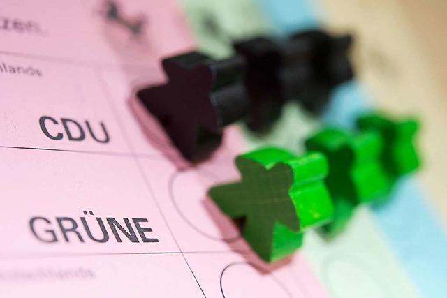 Künftig zwei Stimmen für den Landtag: Grüne und CDU verständigen sich