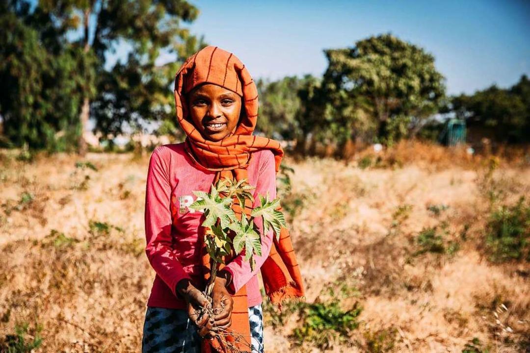 Die Klimakrise zwingt Millionen Menschen in die Flucht.  | Foto: Alea Horst, Äthiopien 2020 (dpa)