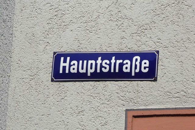 Die Bötzinger Hauptstraße soll zum Verweilen einladen
