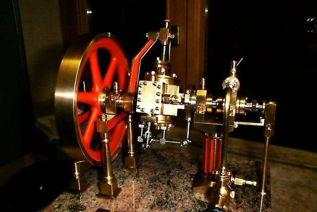 Kleine Maschinen mit viel Dampf