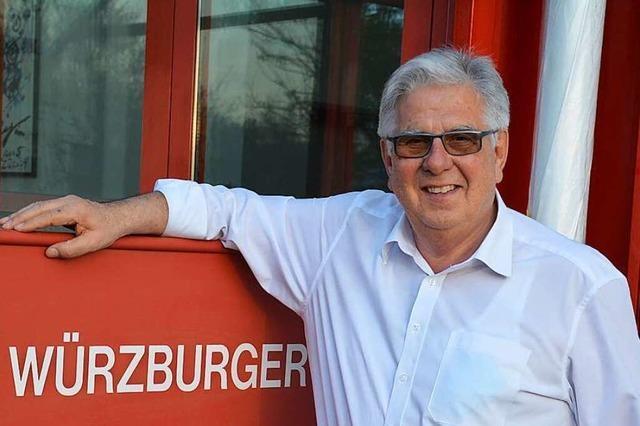 Wie der Weiler Wolfgang Würzburger mit Containern ein Unternehmen aufbaute