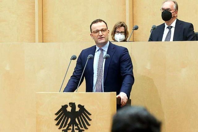 Minister Spahn erwartet Corona-Impfungen für alle spätestens ab Juni