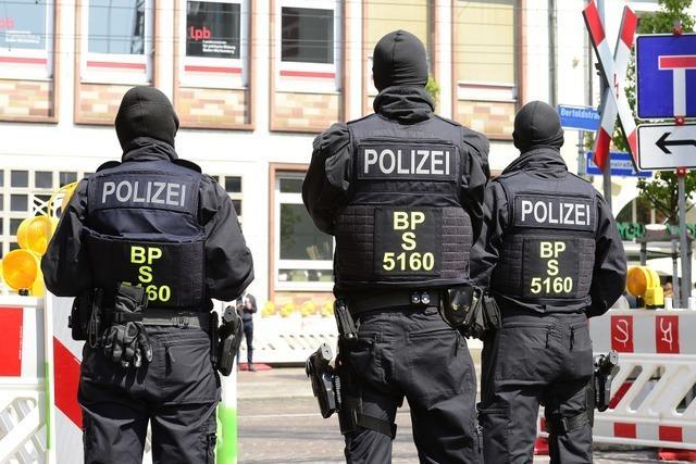 Polizei-Einsatz in Freiburg: illegale Einschleusung von Ausländern