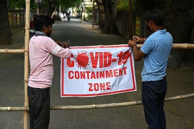 Indien verzeichnet weltweit höchste Zahl an Corona-Neuinfektionen an einem Tag