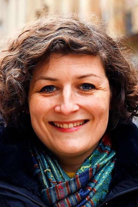 Straßburgs Bürgermeisterin Jeanne Barseghian  | Foto: FREDERICK FLORIN (AFP)