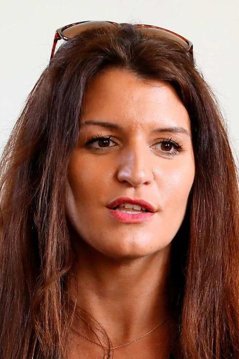 Marlène Schiappa,  Staatssekretärin aus Paris  | Foto: LUDOVIC MARIN