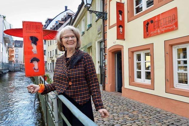 Maureen Winterhager (73) verkauft in ihrem Laden