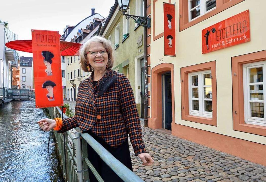 Der Laden von Maureen Winterhager befindet sich inzwischen an der Fischerau.    Foto: Michael Bamberger