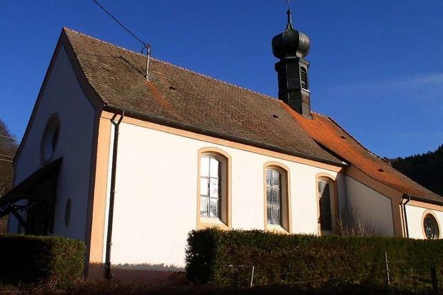 Die Spielwegkapelle im oberen Münstertal ist ein trautes und schmuckes Kirchlein