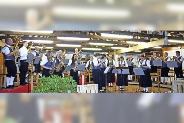 125 Jahre Liebe zur Blasmusik