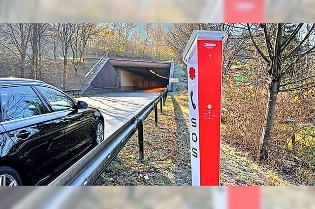 Notrufübertragung auch beim Tunnel sichergestellt