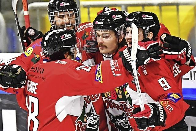 Der EHC Freiburg startet am Freitag gegen Kaufbeuren in die Playoffs