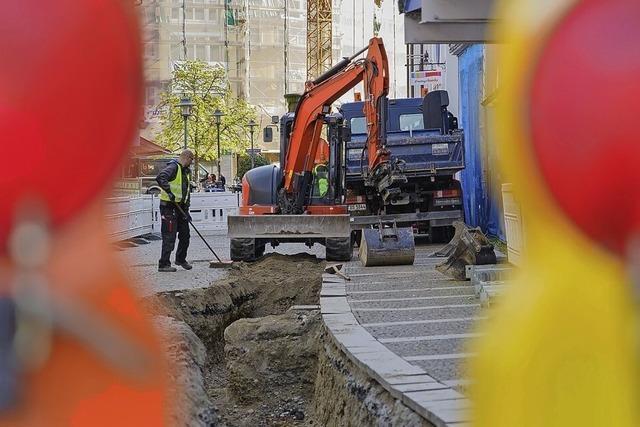 Stadtwerke erneuern Leitungen
