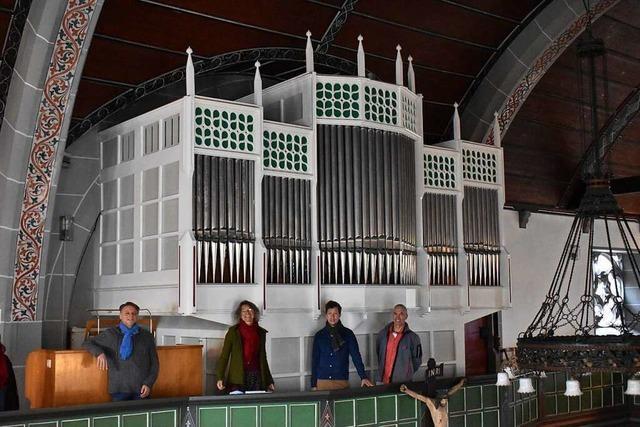 Orgel der Germanuskirche in Brombach wurde gereinigt und saniert