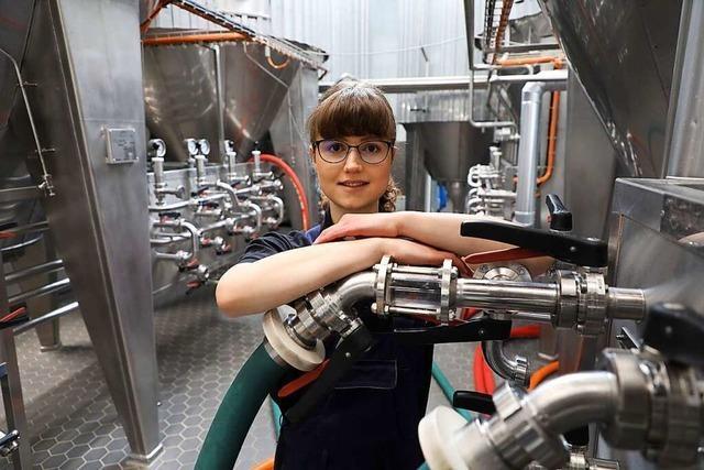 Wie eine junge Ortenauerin zum Beruf der Bierbrauerin gekommen ist