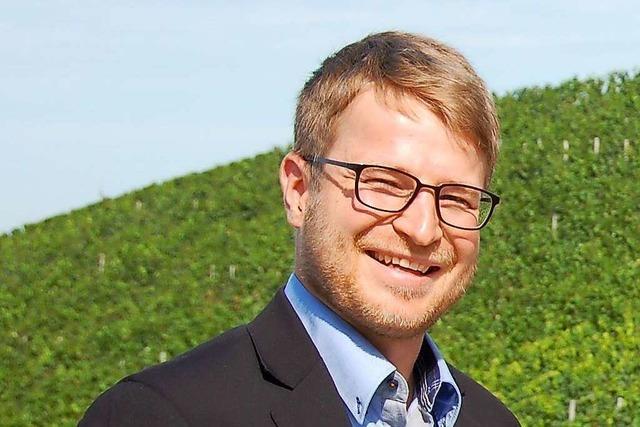 Matthias Wolf ist Leiter des kommunalen Weingutes Schloss Ortenberg