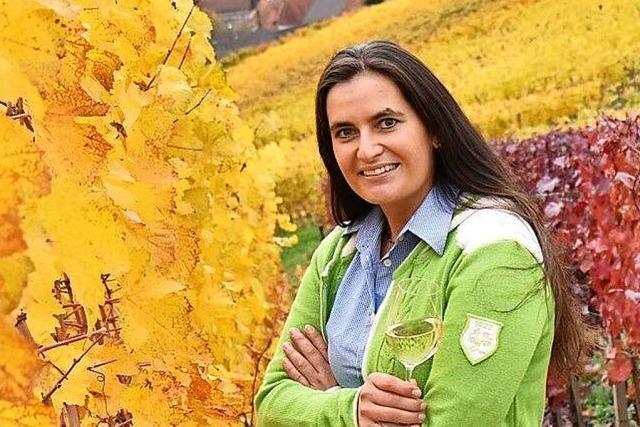 Monika Bähr, Inhaberin des Weingutes Bähr in Oberkirch-Gaisbach