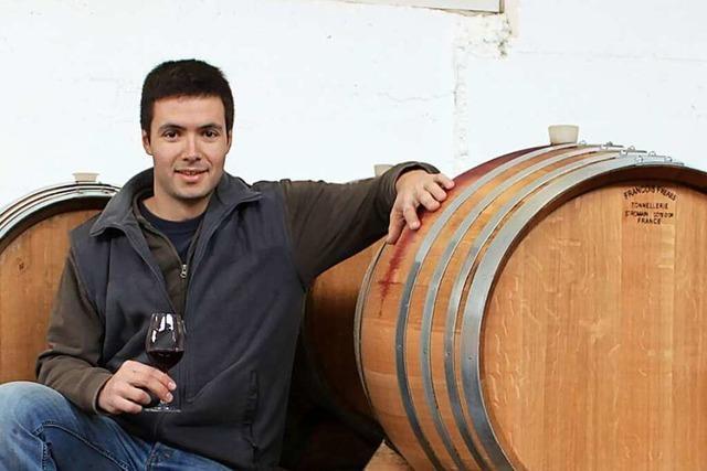 Simon Huber vom gleichnamigen Weingut in Gengenbach