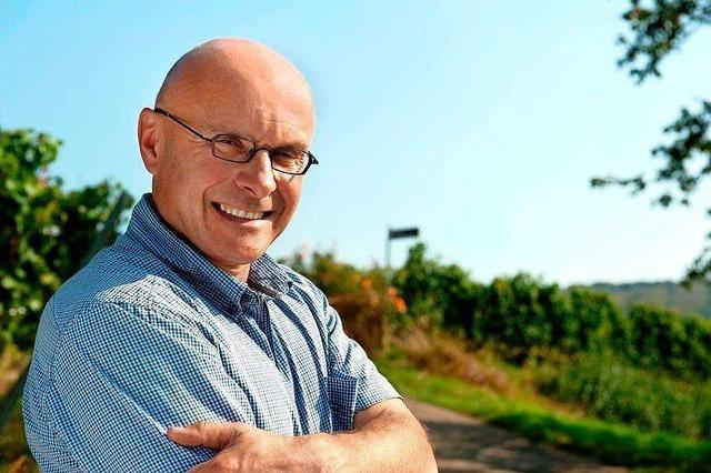 Lothar Schwörer vom gleichnamigen Weingut in Kippenheim-Schmieheim