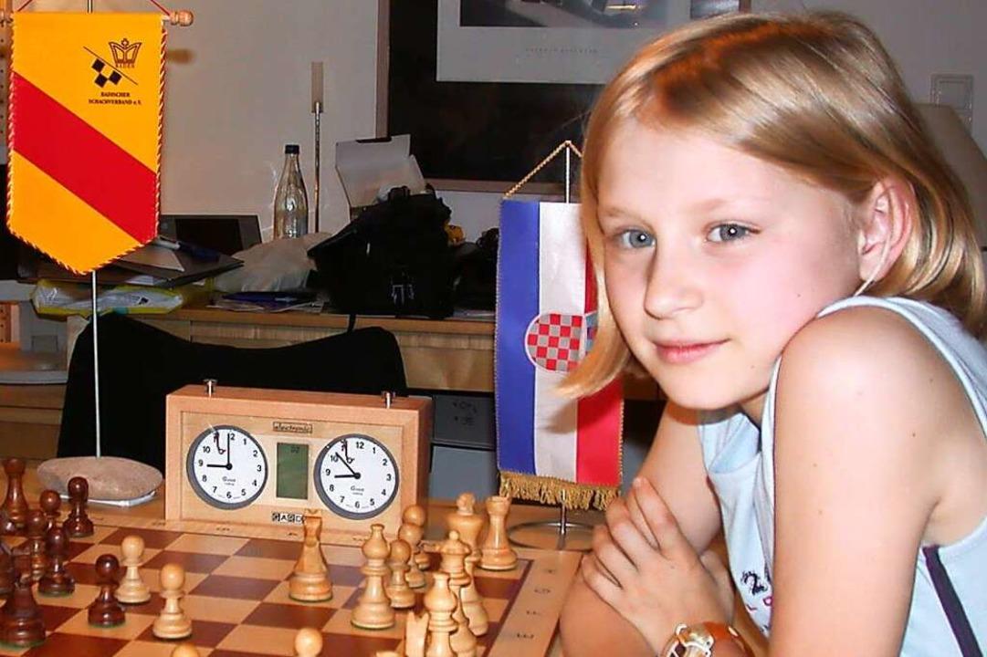 Lara Stock in einer Aufnahme aus dem Jahr 2003  | Foto: Silvia Faller