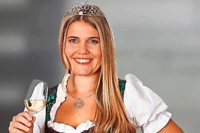 Nicole End aus Zell-Weierbach, amtierende Badische Weinprinzessin